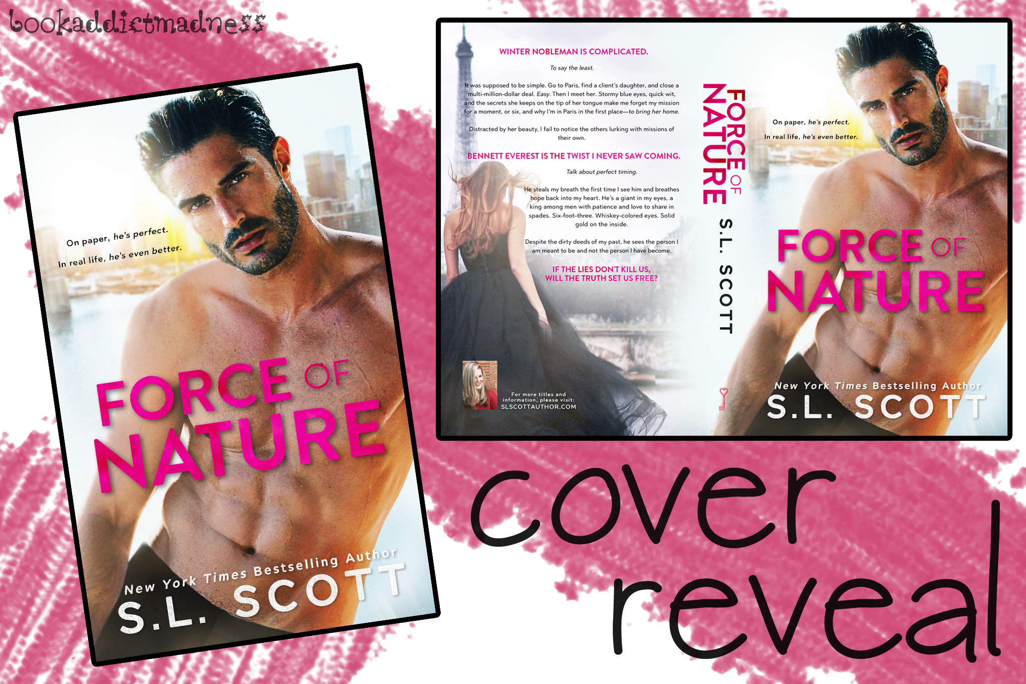FORCE OF NATURE by S.L. Scott
