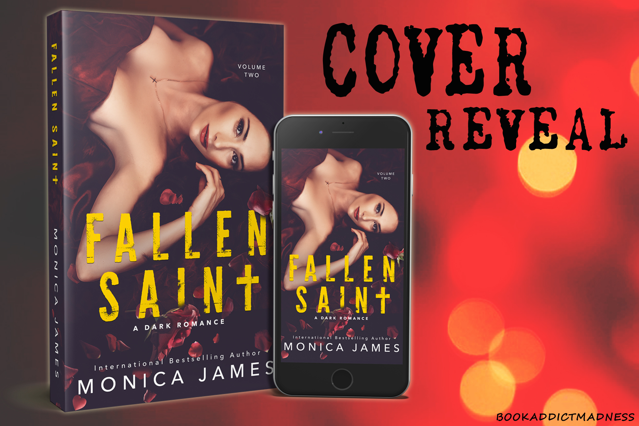 Fallen Saint by Monica James
