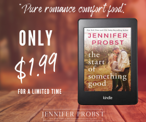 MADNESS SALE!!! The start of something good by Jennifer Probst