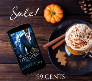 SALE!!! Windy City Dragon by Genevieve Jack