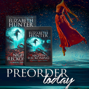 COVER REVEAL!!! Night's Reckoning by Elizabeth Hunter