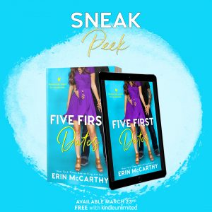 SNEAK PEAK!!! Five First Dates by Erin McCarthy