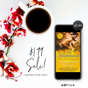MADNESS SALE!!! The Highwayman by Kerrigan Byrne