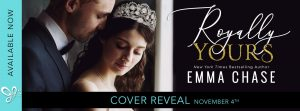 COVER REVEAL!!! Royally Yours by Emma Chase