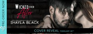 COVER REVEAL!!! Wicked Ever After by Shayla Black
