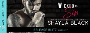 RELEASE BLITZ!!! Wicked As Sin by Shayla Black