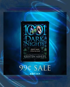 SALE BLAST!!! Quiet Man by Kristen Ashley